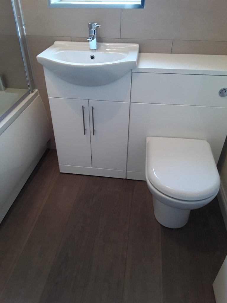 Handwash Sink and Toilet