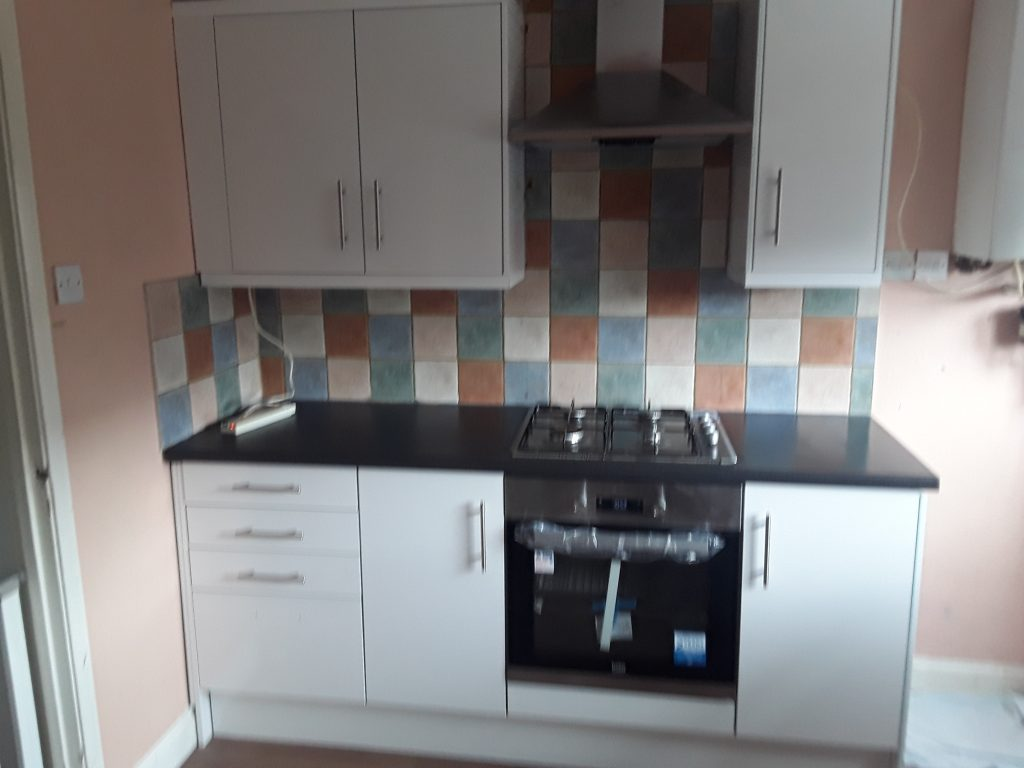 Kitchen at Lingey Close
