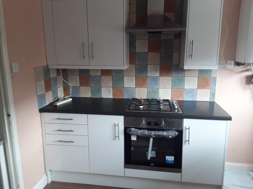 Kitchen in Lingey Close Sacriston