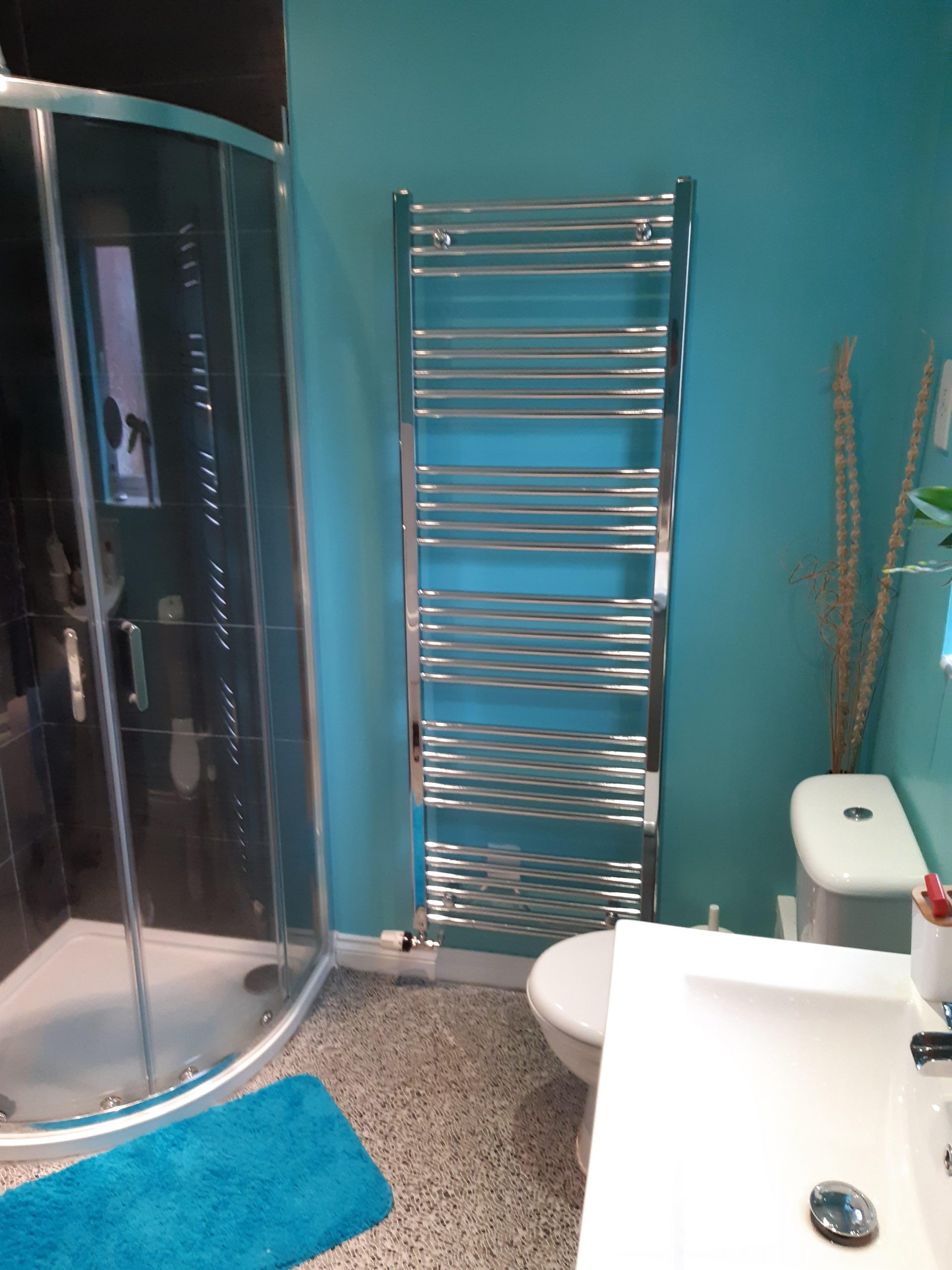 New Bathroom Shower in Stanley